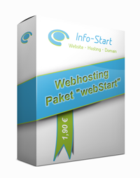 Webhosting Paket webStart